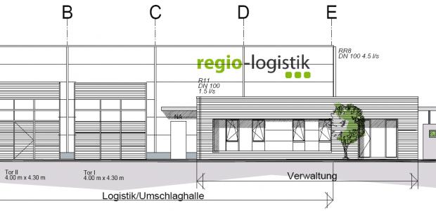 Sideka Energietechnik GmbH erhält Auftrag für Elektroarbeiten einer Logistikhalle mit Sozialtrakt